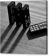 Dominoes Canvas Print