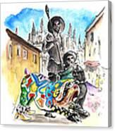 Don Quijotes New Pet Canvas Print
