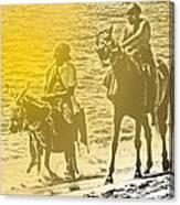 Don Quixote Rides Again Canvas Print