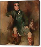 Donald Mcintyre Canvas Print