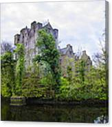 Donegal Castle In Donegaltown Ireland Canvas Print