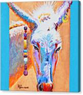 Jack's Other Girl - Burro - Donkey Canvas Print