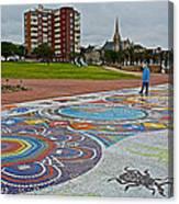 Donkin Reserve In Port Elizabeth-south Africa  Canvas Print