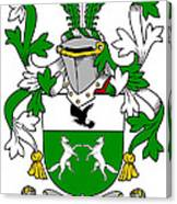 Donohue Coat Of Arms Irish Canvas Print