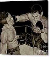 Donovan Boxing Canvas Print