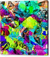 Dont Fall On The Road 3d Abstract I Canvas Print