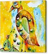 Don't Worry Big Big Bird Canvas Print