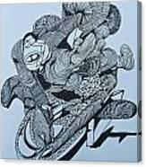 Doodle - 02 Canvas Print