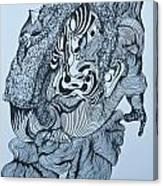 Doodle - 04 Canvas Print