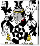 Doolan Coat Of Arms Irish Canvas Print