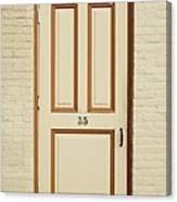 Door 35 Canvas Print