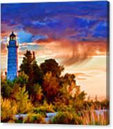 Door County Cana Island Wisp Canvas Print