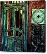 Door Guard Canvas Print