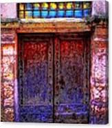 Door Number 5 Canvas Print