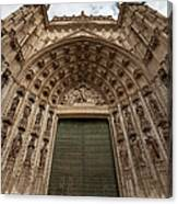 Door Of Assumption Of The Seville Cathedral Canvas Print