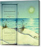 Door Of Perception Canvas Print