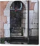 Door On The River Canvas Print