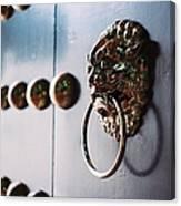 Door Ring Canvas Print