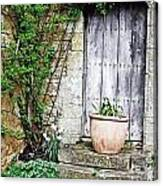 Door To The Cotswolds Canvas Print