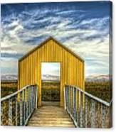 Door To The Marshlands Canvas Print