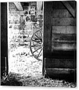 Doorway Through Time Canvas Print
