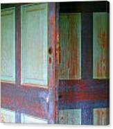 Doors Ajar Canvas Print
