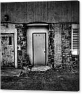 Doors And Vents Canvas Print