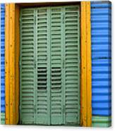 Doors And Windows Buenos Aires 14 Canvas Print