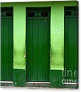 Doors And Windows Lencois Brazil 1 Canvas Print