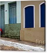 Doors And Windows Lencois Brazil 3 Canvas Print