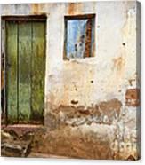 Doors And Windows Lencois Brazil 4 Canvas Print
