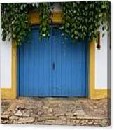 Doors And Windows Minas Gerais State Brazil 11 Canvas Print