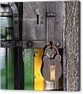 Doors And Windows Minas Gerais State Brazil 12 Canvas Print