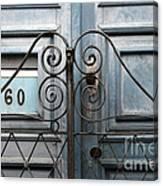 Doors And Windows Salvador Brazil 2 Canvas Print