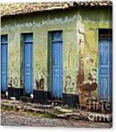 Doors Of Alcantara Brazil 4 Canvas Print