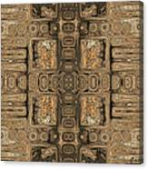 Doors Of Zanzibar Allspice Canvas Print