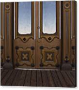 Doors To The Old West Canvas Print
