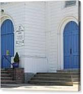 Doors To Worship Canvas Print