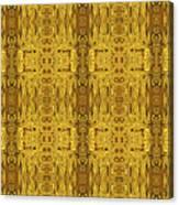 Doors Zanzibar Saffron Canvas Print