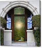 Doorway 10 Canvas Print