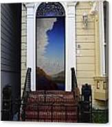 Doorway 12 Canvas Print