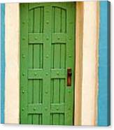 Doorway In The Hollywood Hills Canvas Print