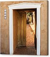 Doorway - Mesilla New Mexico Canvas Print