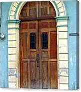 Doorway Of Nicaragua 001 Canvas Print