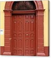 Doorway Of Nicaragua 004 Canvas Print