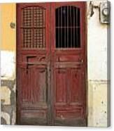 Doorway Of Nicaragua 006 Canvas Print