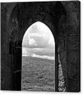 Doorway To Irish Landscape 1 Canvas Print