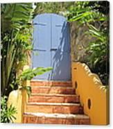 Doorway To Paradise Canvas Print
