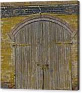 Doorway To The Service Dept. Canvas Print