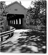 Dorena Covered Bridge Canvas Print